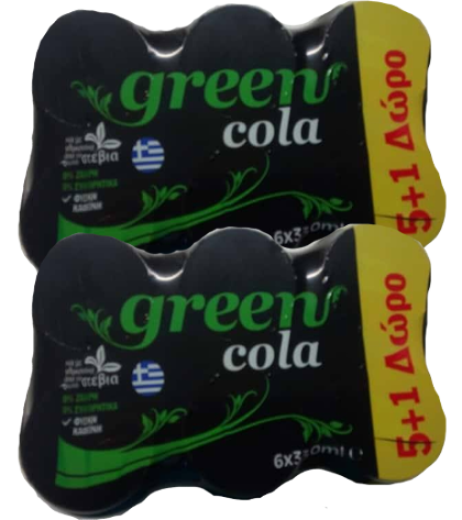 Green Cola-Steviával